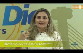 BOM DIA NEWS (24.10) PATRÍCIA MONTE (DEFENSORA PÚBLICA) - Defensoria Pop Rua