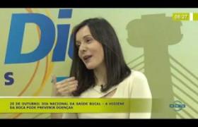 BOM DIA NEWS (25.10) Dra. HELLEN DANIEL (DENTISTA) - Higiene da boca pode prevenir doenças