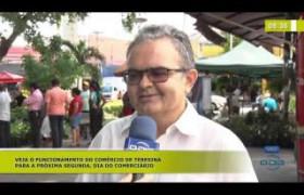 BOM DIA NEWS (25.10) Funcionamento do comércio para o dia do comerciário