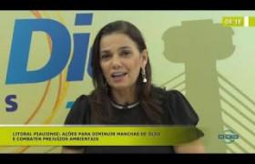 BOM DIA NEWS (25.10) SÁDIA CASTRO (SEC. EST. MEIO AMBIENTE) - Combate às manchas de óleo