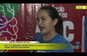 BOM DIA NEWS (29 10) DIA DE COMBATE AO AVC