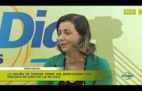 BOM DIA NEWS (30 10) JULIANA DUARTE (GERENTE COMERCIAL EQUATORIAL) TARIFA SOCIAL
