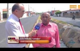 LINHA DE FOGO 01 10  Moradores do Mocambinho denunciam problemas