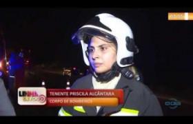 LINHA DE FOGO 11 10  Acidente com 3 carros deixa 9 feridos na BR 343