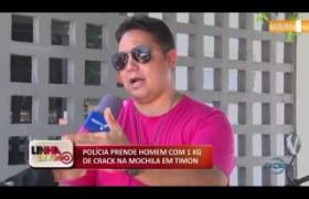 LINHA DE FOGO 11 10  Polícia prende homem com 1kg de crack em Timon