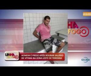 TV O Dia - LINHA DE FOGO 16 10 Homem preso na Zona Leste