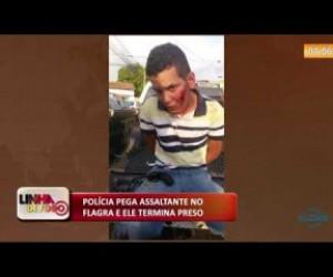 TV O Dia - LINHA DE FOGO 16 10  Polícia pega assaltante no flagra