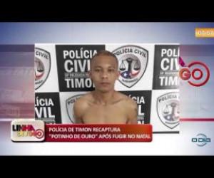 TV O Dia - LINHA DE FOGO 17 10 Polícia de Timon recaptura