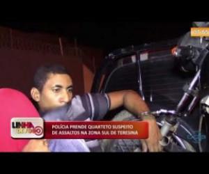 TV O Dia - LINHA DE FOGO (21.10) Preso quarteto suspeito de assaltos na zona sul de Teresina
