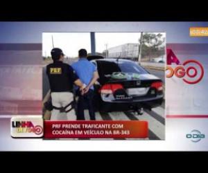TV O Dia - LINHA DE FOGO (21.10) PRF prende traficante com cocaína na BR 343