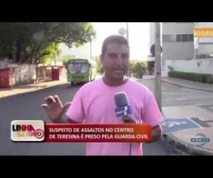 TV O Dia - LINHA DE FOGO (21.10) Suspeito de assaltos no Centro é preso pela Guarda Civil