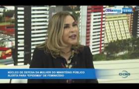 O DIA NEWS 01 10  Amparo Paz (Promotora Coord  NUPEVID) -