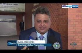 O DIA NEWS 02 10  Dep. Júlio Arcoverde - Filiação de Flávio Nogueira ao Progressistas