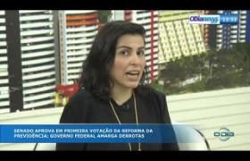 O DIA NEWS 03 10  Naiana Moraes (Advogada Previdenciária) - Reforma da Previdência