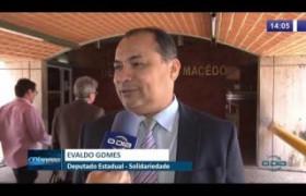 O DIA NEWS 08 10  Dep. Evaldo Gomes comenta acusações do Major Paulo Roberto
