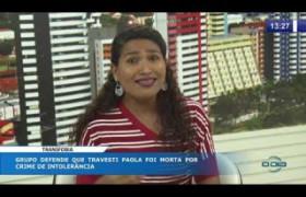 O DIA NEWS 08 10  Joseane Borges (gerente de enfrentamento da LGTFOBIA/SASC)