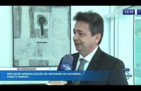 O DIA NEWS 08 10  MPE quer normalização de repasses do Governo para o HEMOPI