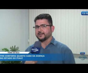 TV O Dia - O DIA NEWS 16 10 FMS confirma o 4º caso de Febre do Nilo no Piauí