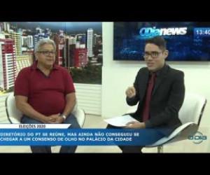 TV O Dia - O DIA NEWS 16 10 Gilberto Paixão (Pres. Diretório Municipal do PT)