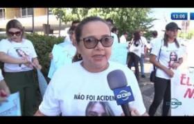 O DIA NEWS 18 10  Protesto por justiça no caso do assassinato de Vanessa Carvalho