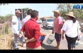 O DIA NEWS (22.10) Famílias do assentamento 8 de Março bloqueiam a BR 316