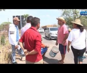 TV O Dia - O DIA NEWS (22.10) Famílias do assentamento 8 de Março bloqueiam a BR 316