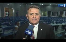 O DIA NEWS (24.10) LUIS LOBÃO (Ver. Teresina MDB) critica a rejeição a pré candidatos para 2