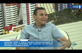 O DIA NEWS (24.10) MAURO EDUARDO (Secretário SEID) - Programa Passo a Frente