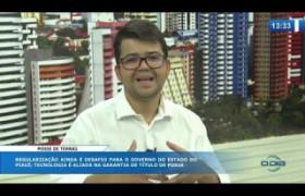 O DIA NEWS (28.10) Chico Lucas (Dir. Geral INTERPI) - Regularização Fundiária
