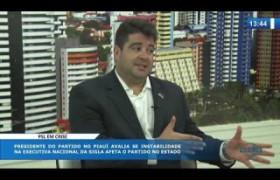 O DIA NEWS (29.10) Luis André (Pres. PSL-PI) - Crise no partido