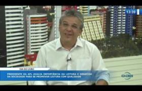 O DIA NEWS (29.10) Nelson Nery Costa (Pres. APL) - Dia Nacional do Livro