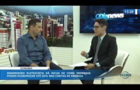 O DIA NEWS (30.10.19) Fábio Franco (engenheiro eletricista) - até 50% de economia para as empres