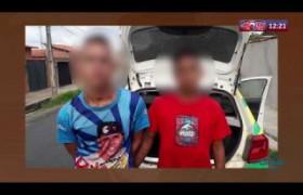 ROTA DO DIA (23.10) Menores armados são apreendidos na zona sul