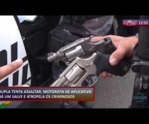 TV O Dia - ROTA DO DIA (23.10) Motorista de aplicativo atropela criminosos após tentativa de assalto