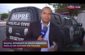 ROTA DO DIA (25.10) Beiçola, integrante de grupo criminoso, roda ao ser avistado por policiais