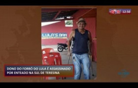 ROTA DO DIA (25.10) Dono do Forró do Lula é assassinado por enteado na zona sul