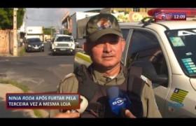 ROTA DO DIA (30.10.19) Homem preso após furtar pela terceira vez a mesma loja