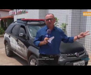 TV O Dia - SUSPEITOS DE ARROMBAR COMÉRCIO QUEBRANDO MURO SÃO PRESOS EM TIMON