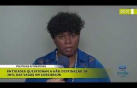 BOM DIA NEWS (04.11.19) Políticas afirmativas: entidades questionam a não destinação de vaga