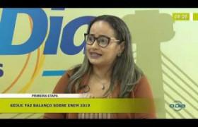 BOM DIA NEWS (04.11.19) Viviane Carvalhedo (Coord. Pré-ENEM) - Balanço da 1ª etapa 2019