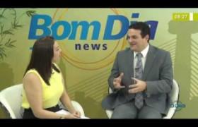 BOM DIA NEWS 07.11  Celso Barros (Pres. OAB-PI) - Debate sobre ciências criminais