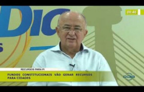BOM DIA NEWS 14 11 2019  Júlio César (Dep. Federal PSD PI) - Recursos para o Piauí