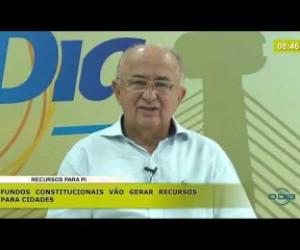 TV O Dia - BOM DIA NEWS 14 11 2019  Júlio César (Dep. Federal PSD PI) - Recursos para o Piauí