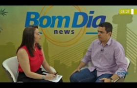 BOM DIA NEWS (18.11) Francisco Mascarenhas (auditor fiscal SEMAR) - Praias impróprias