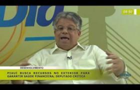 BOM DIA NEWS 19 11 2019  Gustavo Neiva (Dep. Est. PSB) - Piauí busca recursos no exterior