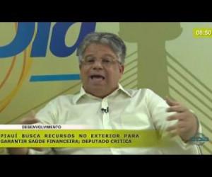 TV O Dia - BOM DIA NEWS 19 11 2019  Gustavo Neiva (Dep. Est. PSB) - Piauí busca recursos no exterior