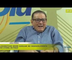 TV O Dia - BOM DIA NEWS 19 11 2019  Valdeci Cavalcante (Pres. Fecomércio) - óleo nas praias piauienses