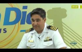 BOM DIA NEWS 20 11 2019  Cap. Dante Duarte (Marinha) - Marinha recomenda não decretar emergência