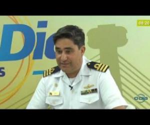 TV O Dia - BOM DIA NEWS 20 11 2019  Cap. Dante Duarte (Marinha) - Marinha recomenda não decretar emergência