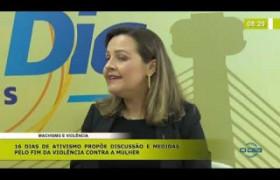 BOM DIA NEWS 27 11 2019  Thaís Paz (Delegada) - Machismo e violência